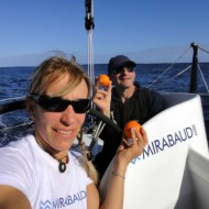 On board Barcelona World Race
