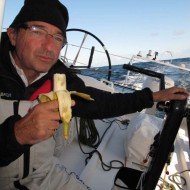 On board Transat Jacques Vabre 2011