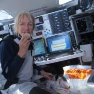 On board Transat Jacques Vabre 2011